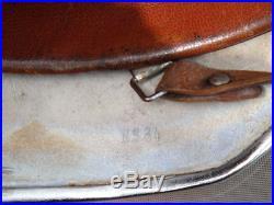 WWII Issue Chromed Steel M35 German Helmet