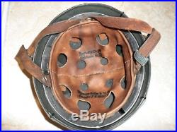 WWII M 38 German Paratrooper Fallschirmjager helmet from ATF « Wwii