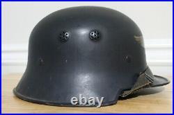 WWII M34 German Luftschutz Helmet WW2