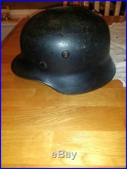WWII M40 Waffen SS Single Decal GERMAN Helmet by Quist (DN)