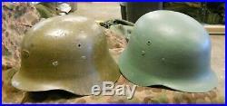 WWII/Post War Spanish Army/ German Style Helmet