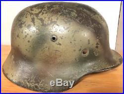 WWII WW2 German Helmet M35/70 RARE