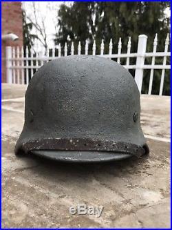 WWII WW2 German Helmet Zimmermitt Camo