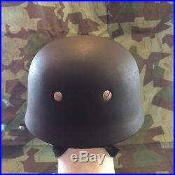 WWII WW2 German Paratrooper Helmet M38 ckl68 FJ Werke Production