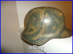 World War 2 German helmet, M-42 Camo