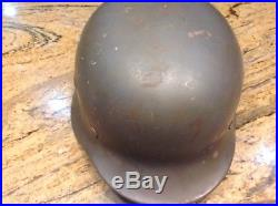 World War 2 Two II Helmet German Air Force %100 authentic