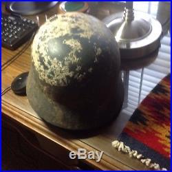 World war 2 german helmet