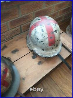Ww2 German Helmet Heer Medic