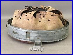Ww2 German Helmet Liner Original Drp 1940 Dated Size 64