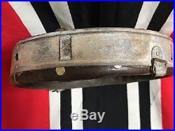 Ww2 German Helmet Liner, Size 62/55, Zinc. Orig