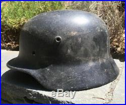 Ww2 German M40 Helmet Shell Quist Size 68