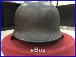 Ww2 German Original M40 Heer Helmet EF68