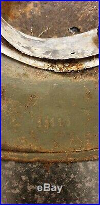 Ww2 German Relic Helmet with battle damage