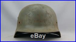 Ww2 German Scarce Big M35 Helmet