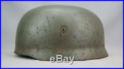 Ww2 German Scarce Big Paratrooper Helmet, Complete With Liner