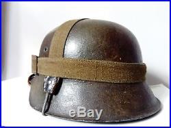 Ww2 German helmet refurbished « Wwii German Helmet