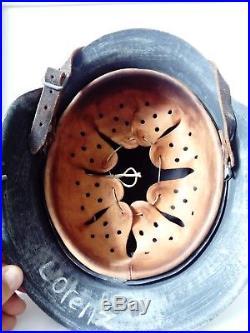 Ww2 German helmet refurbished