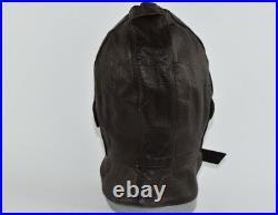 Ww2 Original German Luftwaffe Helmet Leather Hat Pilot Cap Airforce Parachute