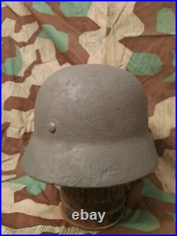 Ww2 Original German M40 helmet, SD, original shell, liner