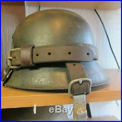 Ww2 german helmet no3 with special band on it