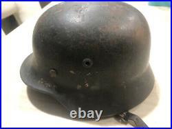 Ww2 german helmet original With More Items