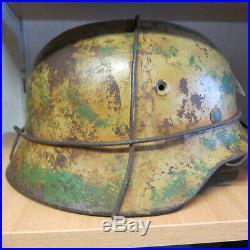 Ww2 german rare normandie camo helmet no4