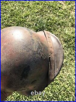 Ww2 wwii original german helmet Camo M40