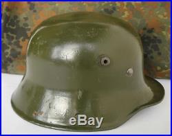 Wwi Wwii Original German M16 Combat Steel Helmet Et64 Rare
