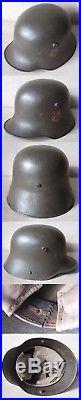 Wwi/wwii German Transitional Combat Helmet M16 Bavarian Freicorps Heimwehr Q66