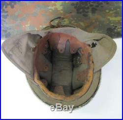 Wwii 1937 German Nsfk Paratrooper Glider Pilot Aluminum Pre M38 Helmet Xtr. Rare