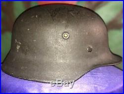 Wwii Authenic German Helmet