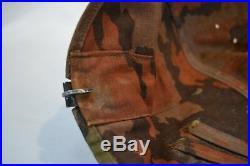 Wwii German Elite Late War Pattern Camo Cloth Helmet Cover Summer / Fall