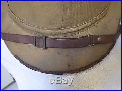 Wwii German Luftwaffe Dak Afrika Korps Pith Helmet Hat, Original