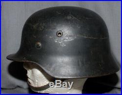Wwii German Luftwaffe Steel Helmet With Good Liner Price Reduced