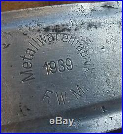 Wwii German M35 Helmet Liner 1939 Size 57 Named Original