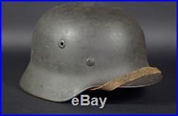 Wwii German M40 Helmet, Army, Q64, 97%